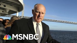 Gov. Jerry Brown: President Trump 'Sabotaging The World In Many Respects' | Andrea Mitchell | MSNBC