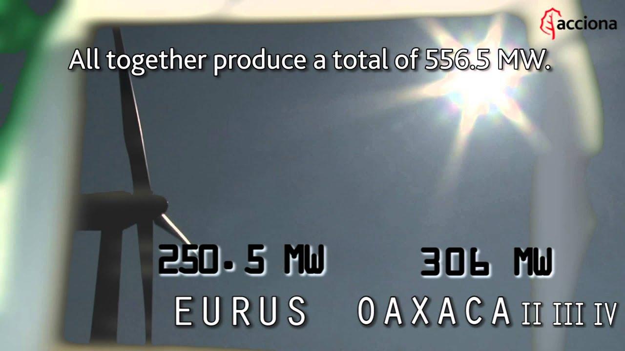 Complejo eólico Oaxacas en México | Oaxaca wind farm in Mexico