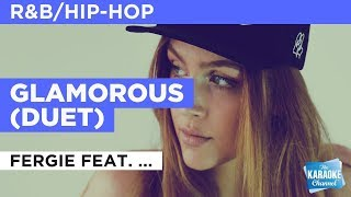 """Glamorous in the Style of """"Fergie feat. Ludacris"""" with lyrics (no lead vocal)"""