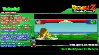 Dragon Ball Z Ultimate Power 2 - Tutorial Video
