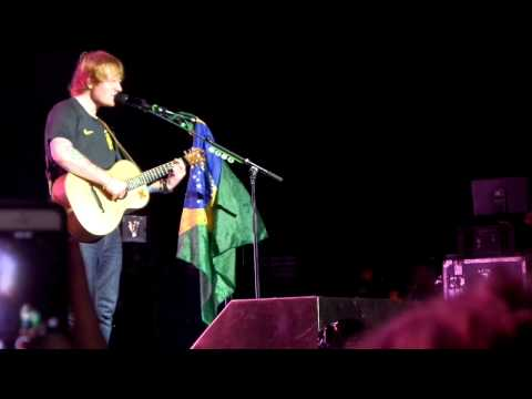 Ed Sheeran - Lego House @ 28/04 Sao Paulo