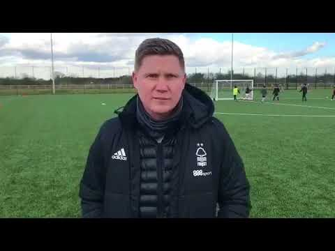 Luke Dowling Sporting Director of Nottingham Forest at AGA Fit Training Camp