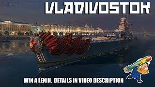 Vladivostok Review versus Lenin - World of Warships