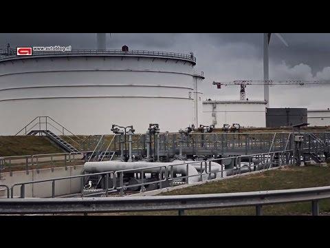 BP refinery visit in Rotterdam