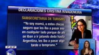 Ministerio de Turismo rechazo declaraciones de Subse. de Turismo Cristina Rivadeneira