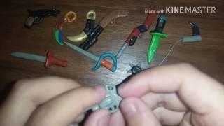 як зробити зброю з пластиліну маленьке для лего