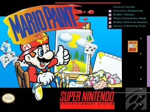 Let's Play Mario Paint