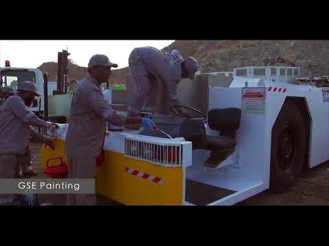 GSE Maintenance & Refurbishment - Alnahdi Aviation Technologies