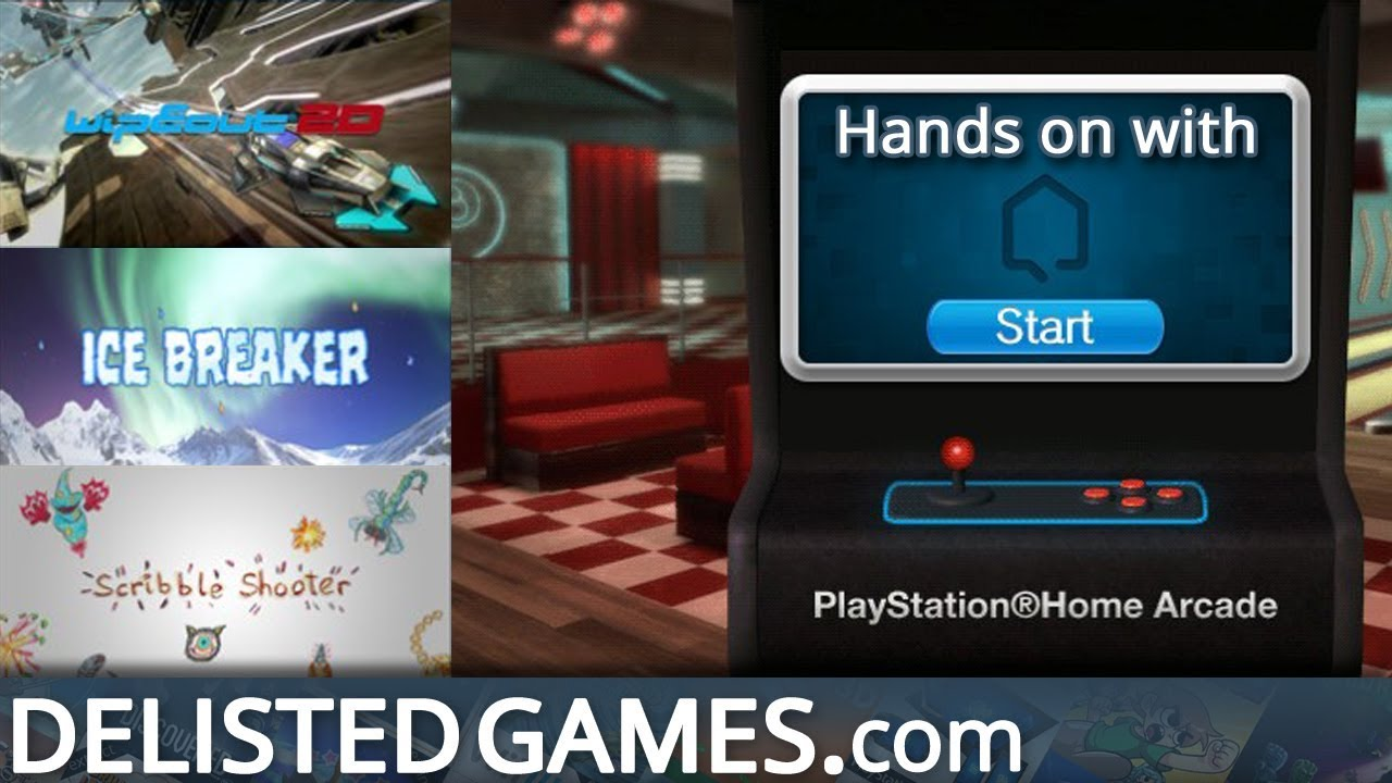 Playstation Home Arcade Delisted Games