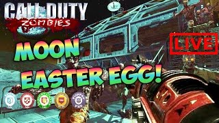 rescuing samantha moon easter egg livestream bo1 zombies gameplay