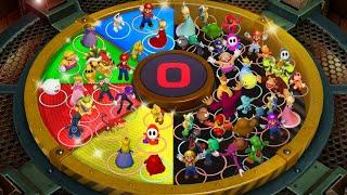 Super Mario Party MiniGames - Mario Vs Bowser Jr Vs Koopa Vs Dry Bones (Master Cpu)