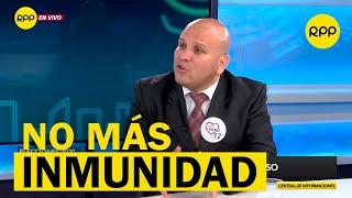 """Alejandro Salas: """"La inmunidad parlamentaria ha sido mal utilizada"""""""