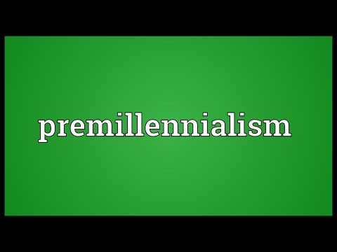 Header of premillennialism