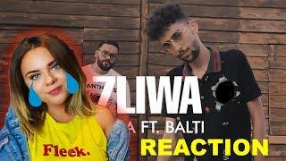 7LIWA - YEMA FT. BALTI #REACTION