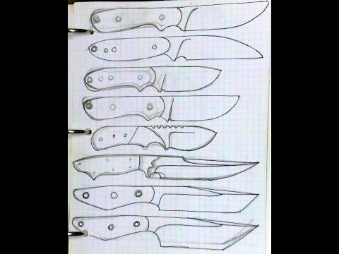 Knife Designs - Silent version