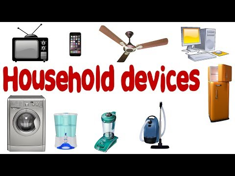 Learn Household devices and appliances for nursery |  Learn About Electrical Appliances