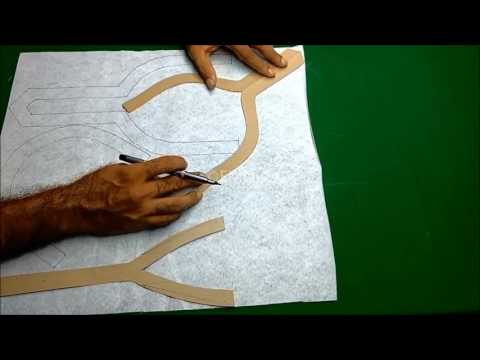 Neck design cutting and stitching in Hindi/Kurti neck designs