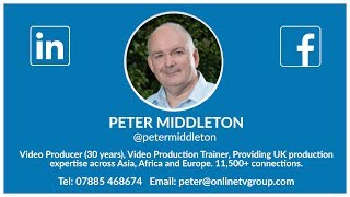 My Video Profile  - Peter Middleton, CEO of OnlineTVGroup