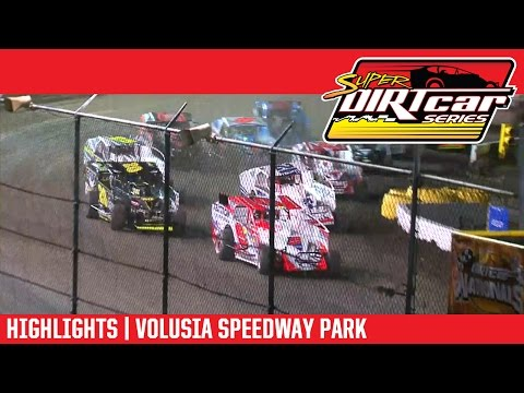 Super DIRTcar Series Big Block Modifieds Volusia Speedway Park February 25, 2017 | HIGHLIGHTS
