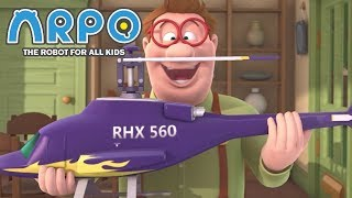 ARPO The Robot For All Kids - Toys for Big Boys   Compilation   Cartoon for Kids Video