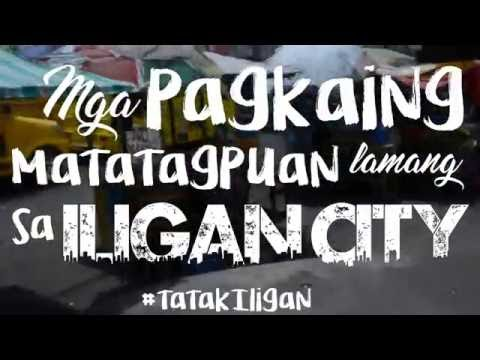 """Filipino 2 - """"Mga Pagkaing Matatagpuan lamang sa Iligan City"""" #tatakIligan"""