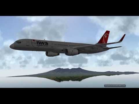 Boeing 757 emergency on Solomon Islands