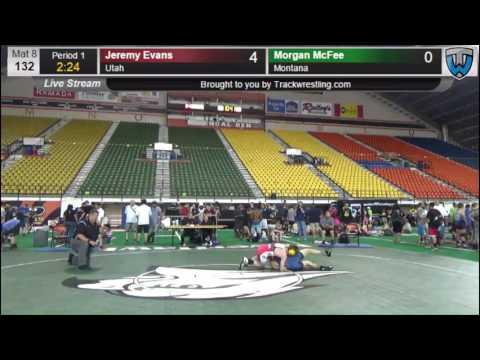 159 CADET 132 Jeremy Evans Utah vs Morgan McFee Montana 8419865104