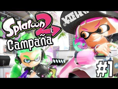 Splatoon 2 | Modo Campaña | Capítulo 1 en Español (Nintendo Switch)