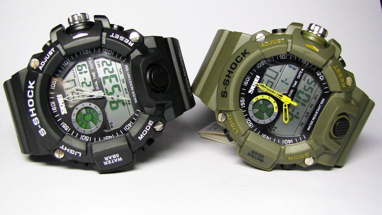 Часы-сравнение s-shock 0931 и s-shock 0939 - YouTube