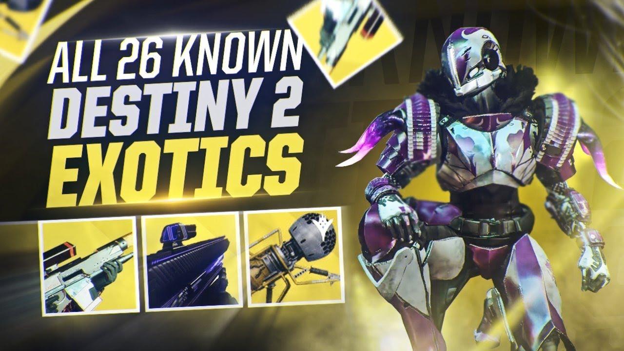 all titan exotics destiny 2