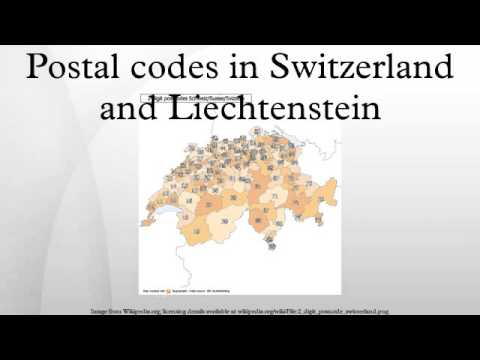 Postal codes in Switzerland and Liechtenstein