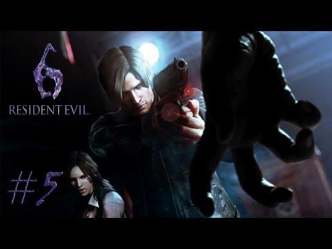 Смотреть прохождение игры [Coop] Resident Evil 6. Серия 5 - С днем рожденья, Ада Вонг.