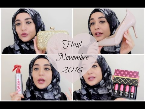 Haul Novembre 2016  (Shein, Primark, Zalando, Aliexpress, Beauté... ) | Muslim Queens by Mona
