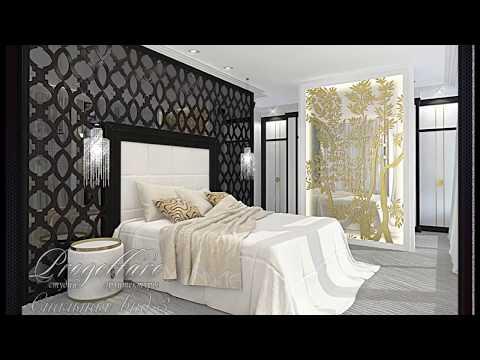 Оформление спальни в Арт-Деко, спальня в современной классике