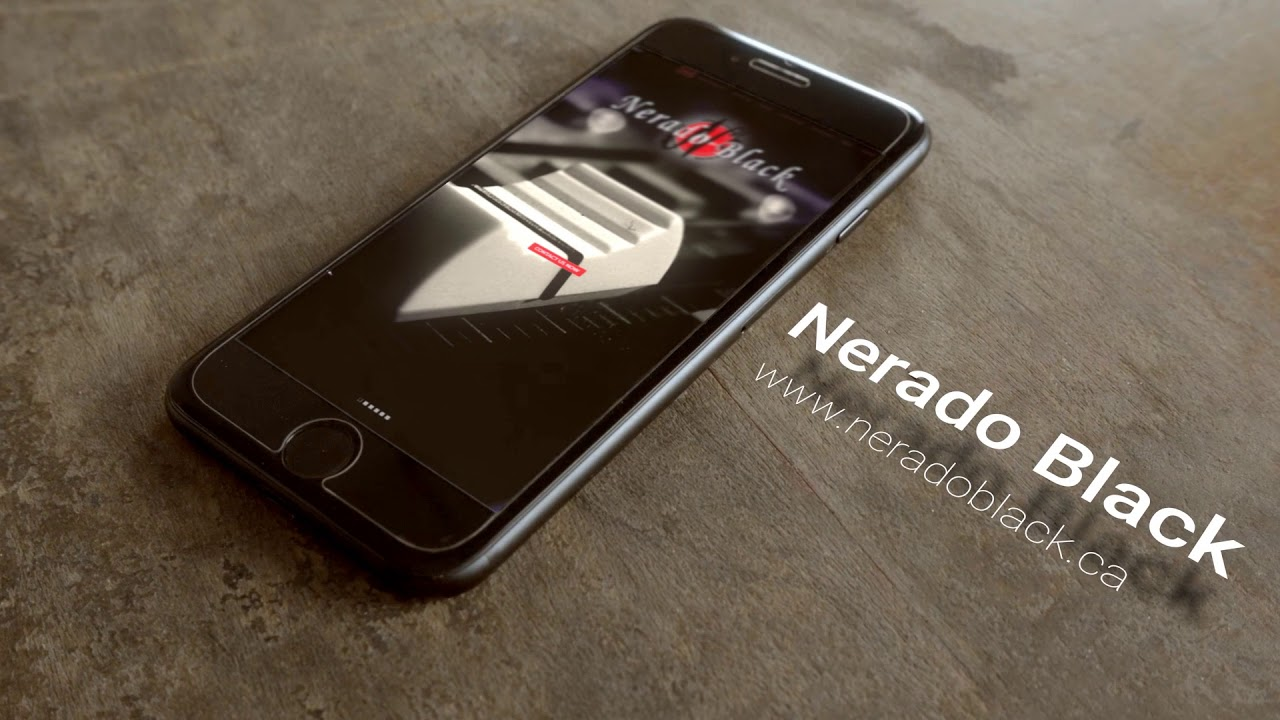 Nerado Black Live Action Iphone On The Table Youtube