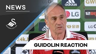 Swans TV - Reaction: Guidolin on Man City draw