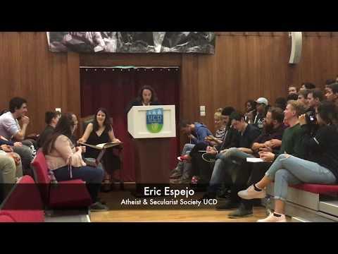 Public Debate: IS GOD EVIL? [University College Dublin, Literary & Historical Society]