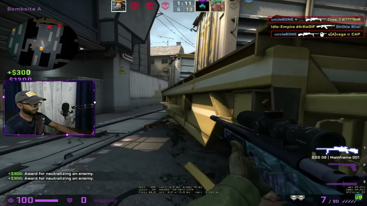 4K Clutch with Scout |CSGO CLIP| #shorts