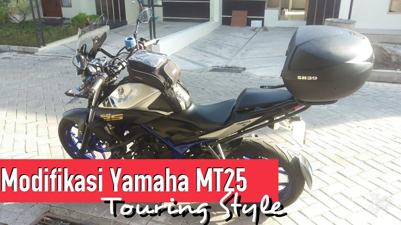 Modifikasi Touring Style Yamaha Mt25 By Erwin Cahyadi