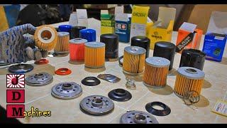 Популярные Масляные фильтры. В поисках контрафакта!  #JDMachines