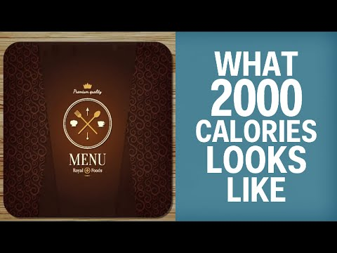What 2,000 Calories Actually Looks Like
