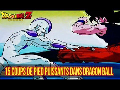 15 COUPS DE PIED PUISSANTS dans DRAGON BALL (Feat. DEBAT Z)