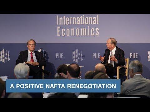 A Positive NAFTA Renegotiation