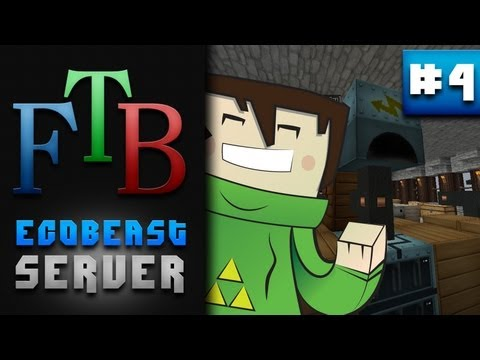 Sawmill, Wood Pulp And Industrial Centrifuge!  - Feed The Beast SMP - #4