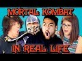 Teens React to Real Life Mortal Kombat