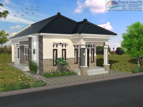 Desain Rumah Minimalis Ukuran 7x14  rumah minimalis lantai 1 modern house 7x14 5 youtube