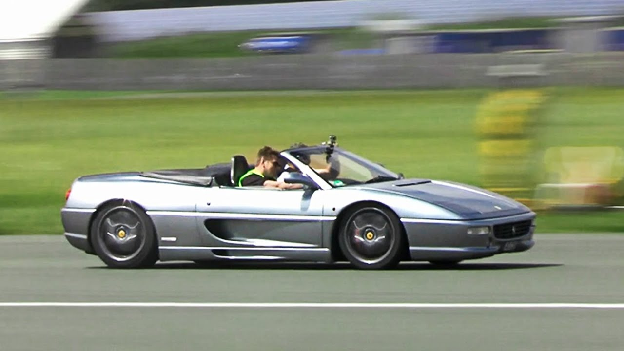 Ferrari F355 F1 Spider - Amazing acceleration sounds - YouTube
