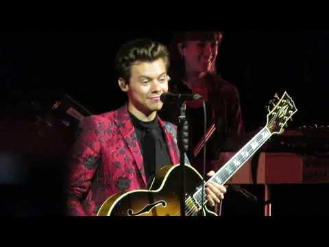 Harry Styles - Talking at Radio City  Hall