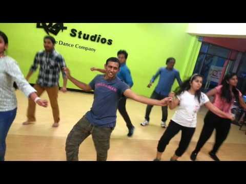 Idicha Pacharisi- Tamil song practice at DZe Dance Studios