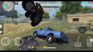 Funny car fight in Free fire